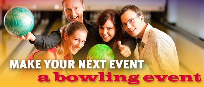 Make Your Next Event A Bowling Event